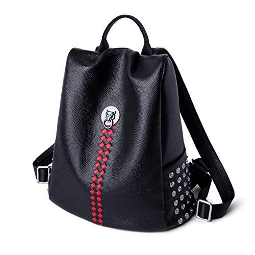 Impermeabile Zaino Studenti furto Di Cerniera Elegante Ladies Bag Donna Viaggio Borsa Ragazze Anti Con Spalla Laptop Jybag Per Leather FEqI4vn