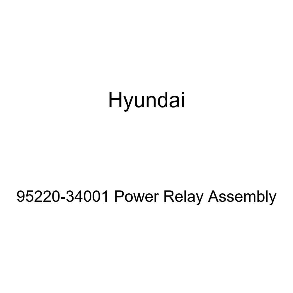 Genuine Hyundai 95220-34001 Power Relay Assembly