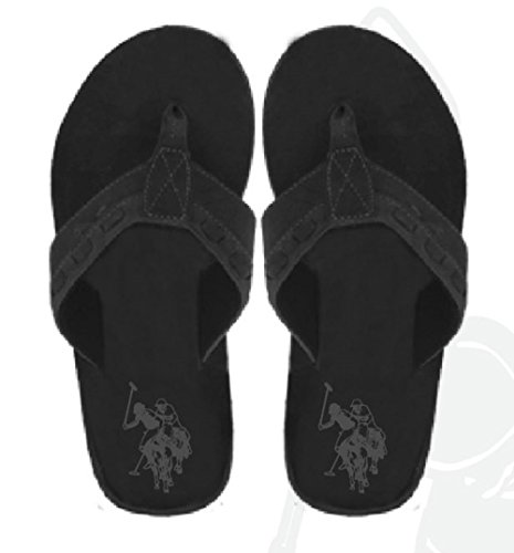 Sandals Flops Polo Flip Assn Leatherette Thongs Premium Men's Super U S Cushioned 67naqR6S