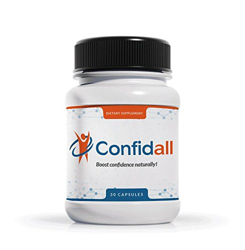 CONFIDALL - Confidence Boosting Anti Anxiety Anti Depressant Positive Mood Enhancer 5HTP GABA Nootropic Supplement Reduce Stress Increase Focus Be Calm Relax 30 Capsules New by Confidall (Image #5)
