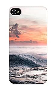 Vvzfwe-3058-lmpbrmy With Unique Design Iphone 5/5s Durable Tpu Case Cover Girl And Sunset