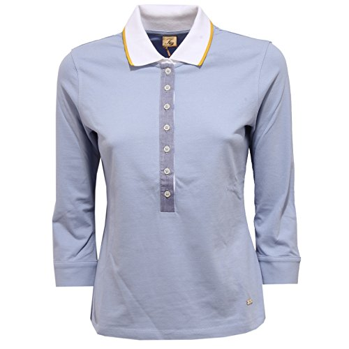 shirt Azur 9220v Fay Polo Maglia Woman Blue Light Donna T 0ACCqwx7H