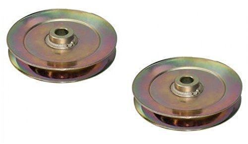 ((Ship from USA) (2) New OEM SPINDLE PULLEYS for Toro 110-6864 / 125-5574 Lawn Mower Tractor /ITEM NO#8Y-IFW81854223256)