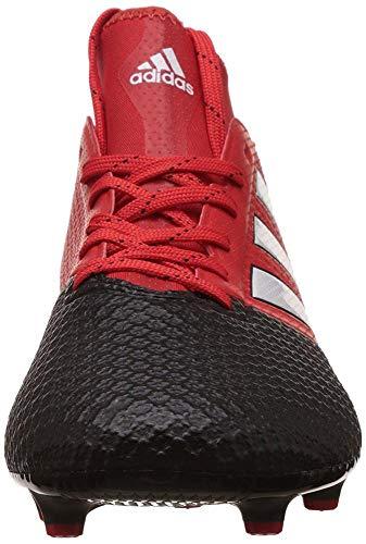 Ace Rojo Red Hombre para Botas Black Primemesh White de core FG ftwr fútbol 17 3 Adidas R1vdAxBqR