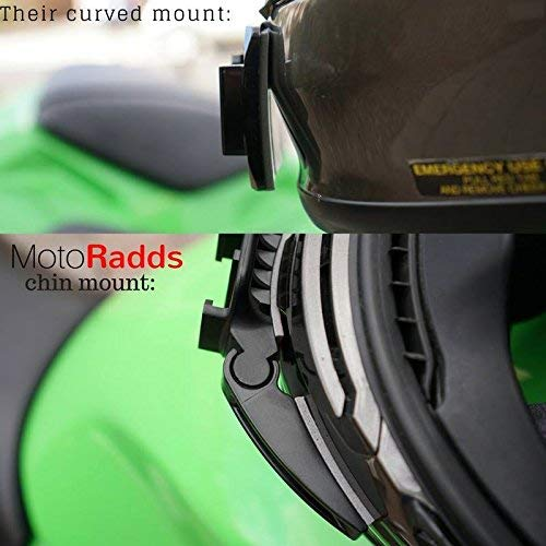 MotoRadds Casco de la Motocicleta Chin Montar para Gopro: Amazon.es: Electrónica