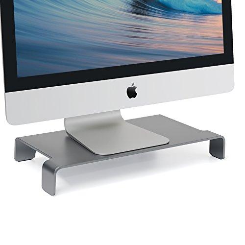 Viozon Monitor Stand, Aluminum Computer Riser Steady Organiz
