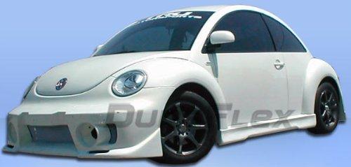 1999 Evo Side Skirts - Duraflex Replacement for 1998-2005 Volkswagen Beetle Evo 5 Side Skirts Rocker Panels - 2 Piece