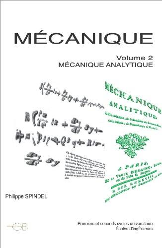 Read Online Mécanique tome 2 pdf