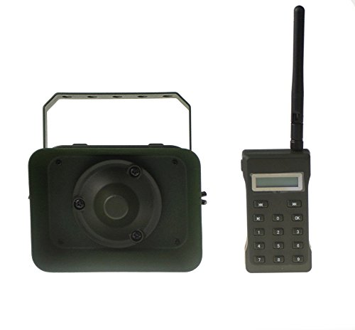 Outdoor Hunting MP3 Player Bird Decoy Caller 60W 160dB Loud Speaker Waterproof + 500M Remote by Up Force (Image #1)