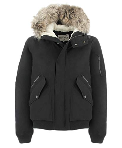 Woolrich rich Nero Uniform Penn Bomber Giubbotto q1cW5dcw7