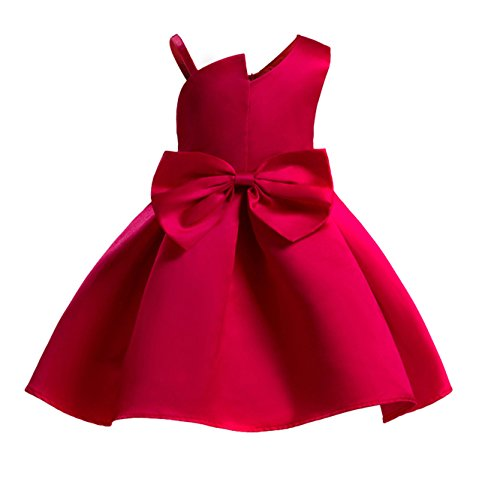 Price comparison product image Arsmt Fairy Skirt Sleeveless Princess Bow Party Wedding Christmas Dress Little Girl