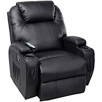 Amazon Com Ghp Black Sturdy Ergonomic Seating Massage
