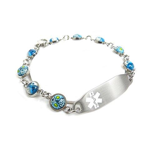 MyIDDr Medical Bracelet for Wo