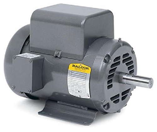 09111961 BALDOR 5 HP 1 PH AIR COMP ELECT MOTOR 184T 230V SAME AS L1430T 36M926T077G2 by Baldor