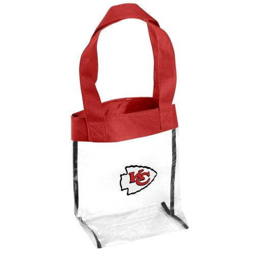 FOCO Kansas City Chiefs Clear Tote Bag by FOCO