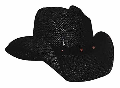 Montecarlo Bullhide Hats After Party Sea Grass Toyo Straw Cowboy Western hat (Large) - Straw Toyo Western Hat