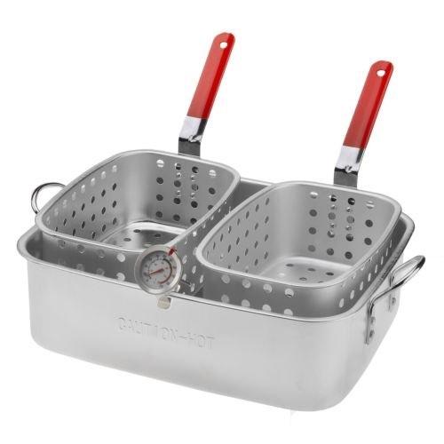 Outdoor Gourmet 15 qt. Pan with Dual Baskets