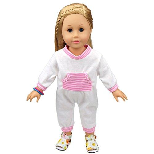 American Girl Doll Striped Stroller - 9