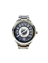 CTSP090 1941 harley davidson knucklehead+speedometer Accessories Sport Metal Watch
