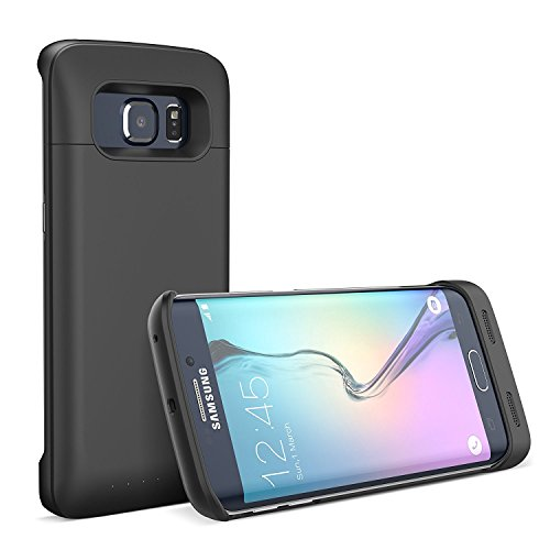Galaxy S7 Edge Battery Case, iPosible [5500mAh] External Battery Charger Case for the Galaxy S7 Edge Juice Power Battery Pack-Black [24 Month Warranty]
