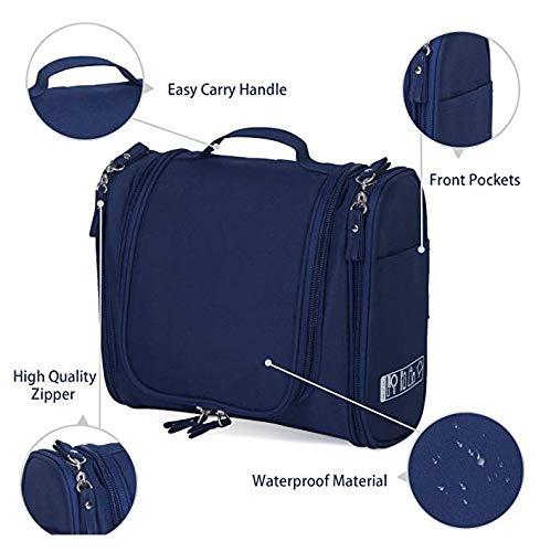 41VE5PRUW7L EAYIRA Fabric Toiletry Bag (Navy Blue_TSB-7_10)