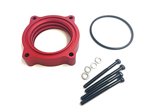 - Red Vortex Billet Aluminum Throttle Body Spacer Fit 06-10 DODGE CHARGER 2.7L 3.5L V6
