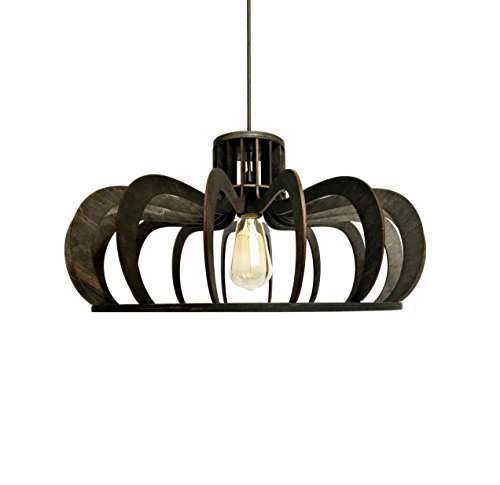 Dining room lighting- Pendant light fixture for kitchen island - Modern hanging lamp original design for any interior styles - Birch plywood ceiling light ALREADY ASSEMBLED (Lighting Kitchen Pinterest)