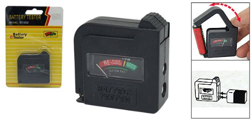 Price comparison product image Industrial Tools Compact Easy-to-Use Battery Charge Tester