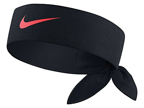 Nike Head Tie Headband (BLACK/Lava)