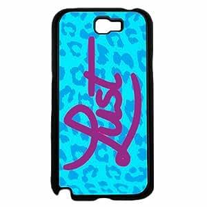 Blue Leopard Lust - Case Back Cover (Galaxy Note 2 - Plastic) wangjiang maoyi