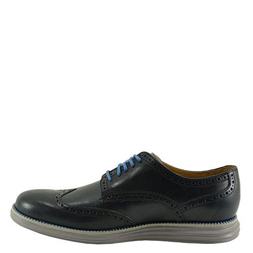 Grand Cole Wingtip Original Haan Navy Leather Ink Mens Oxford 44q1Ex7wr