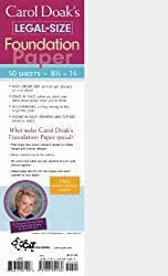 Carol Doak's Legal-Size Foundation Paper