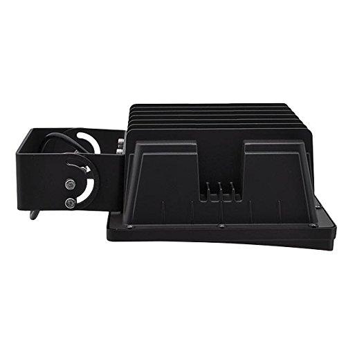 LEDwholesalers Series-4 90W Outdoor Flood Trunnion UL-Listed, 5000K,