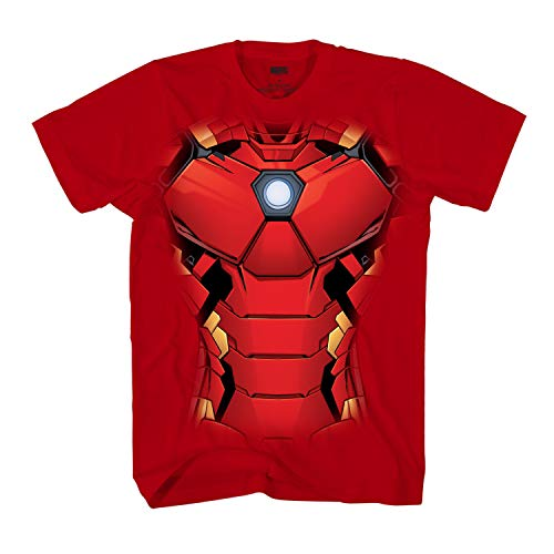 Marvel I am Iron Man Armor Tony Stark Costume T-Shirt - Tee Ironman T-shirt