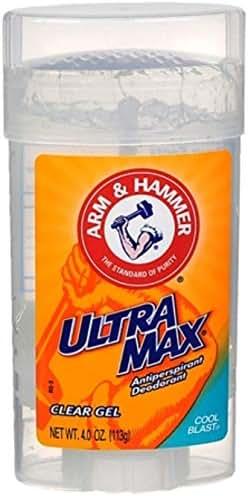 Deodorant: Arm & Hammer Ultra Max