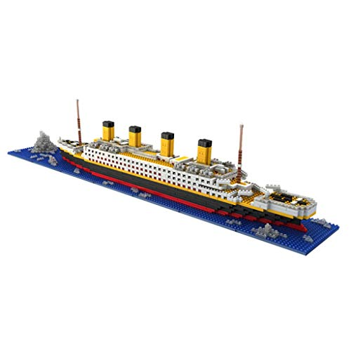 Olympics Set Block - MiniBlocks Titanic Model Building Blocks Set 1864PCS - Nano Blocks DIY Toys as Gift for Kids