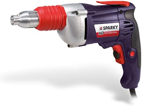 Sparky Professional 110v BVR 62E Heavy-Duty Drywall Tek Screw Gun/Screwdriver - Less Than Half Manufacturers RRP of £127.93