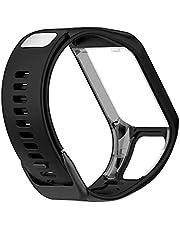 Sport Ersättning Armband Silikone Smart Watchband Tillbehör Armband För Tomtom Runner 2/3 Cardio Music Running Smart Klocka