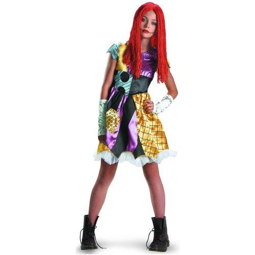 Disguise Costumes Sally Tween Costume, (Sally Nightmare Before Christmas Fancy Dress)