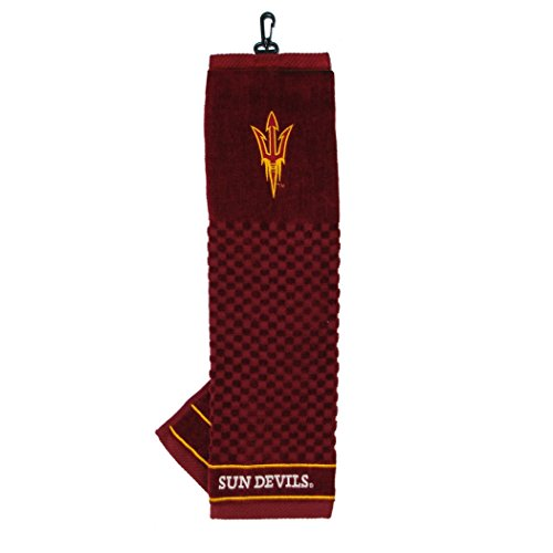 (Team Golf Arizona State University Embroidered Golf Towel)