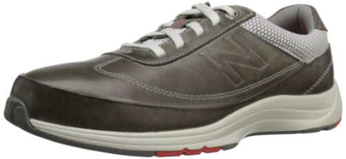 New Balance Womens WW980 Walking Shoe Grey With Cream & Red