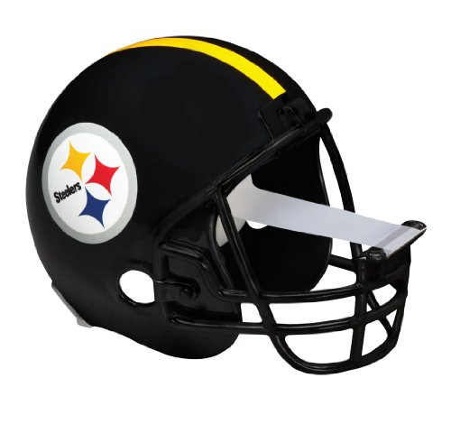 Scotch Magic Tape Dispenser, Pittsburgh Steelers Football Helmet with 1 Roll of 3/4 x 350 Inches Tape