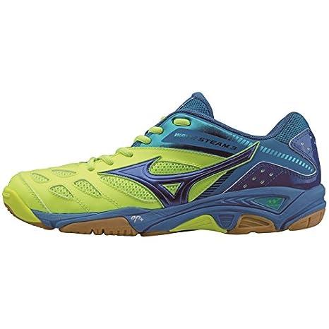 Mizuno Zapatillas de balonmano Wave Stealth 3, color lemon blau, tamaño UK 5,5 - EU 38,5: Amazon.es: Zapatos y complementos