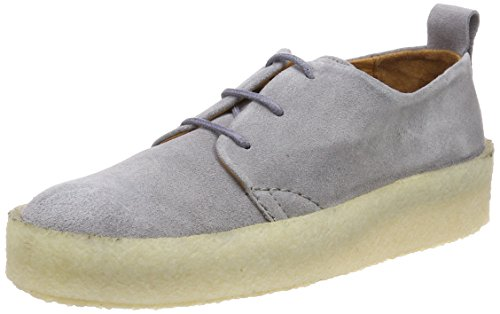 Shabbies Amsterdam Damen Shabbies Schnürer Derbys Blau (Denim)