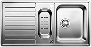 BLANCO CLASSIC PRO 6 S-IF - Fregadero (Acero inoxidable, 340 x 420 mm, 165 x 340 mm)