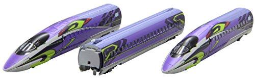 ロクハン Zゲージ T013-4 新幹線 エヴァンゲリオン プロジェクト 500TYPE EVA 3両基本セットの商品画像