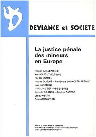 En ligne téléchargement Déviance et Société, Volume 26 N° 3, Sept : La justice pénale des mineurs en Europe pdf, epub ebook