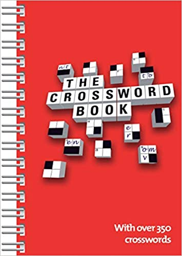 Amazoncom The Crossword Book Over 350 Crosswords 9781680524864