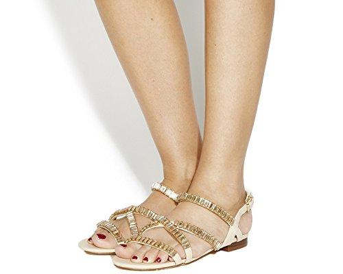 Unbekannt - Sandalias de vestir para mujer bronceado