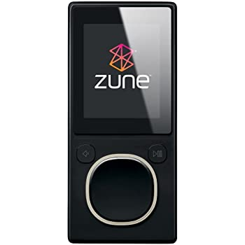 Zune 8 GB Digital Media Player (Black)